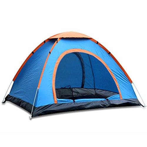 Draussen 2-3 Personen Einfach Pop Up Zelte Sport Camping Wandern Angeln Reisezelt mit Tragetasche