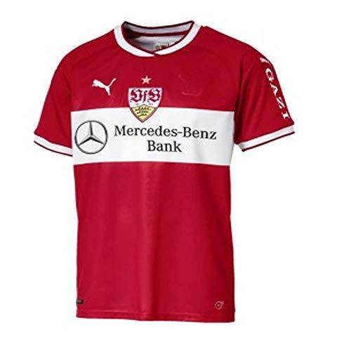 PUMA 2018-2019 VfB Stuttgart Away Football Soccer T-Shirt Jersey (Kids) ()