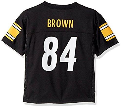 Outerstuff Antonio Brown Pittsburgh Steelers Youth Black Jersey Large 14/16
