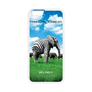 "Clzpg Personalized Iphone6 Plus 5.5"" Case - Elephant cover case"