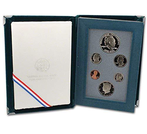 1990 US Mint Prestige Proof Set Original Government Packaging