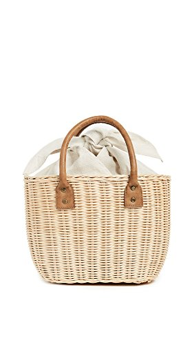 Hat Attack Women's Small Wicker Basket, Natural, One Size by Hat Attack