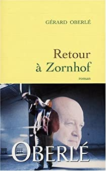Retour à Zornhof par Oberlé
