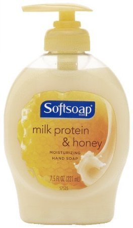 Softsoap Elements Milk Protein & Honey Moisturizing Hand Soap 7.5 oz (Pack of 12)
