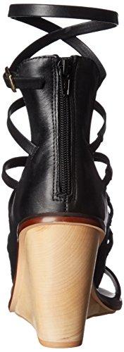 Sandalia Con Cuña Russella Para Mujer Aldo Black Leather