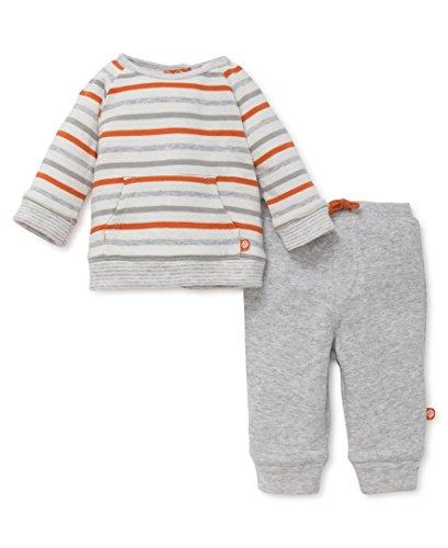 OffSpring - Baby Apparel Baby Boys' 2 Piece Jogger Set, Safari Fun, 12M (Safari Jogger)