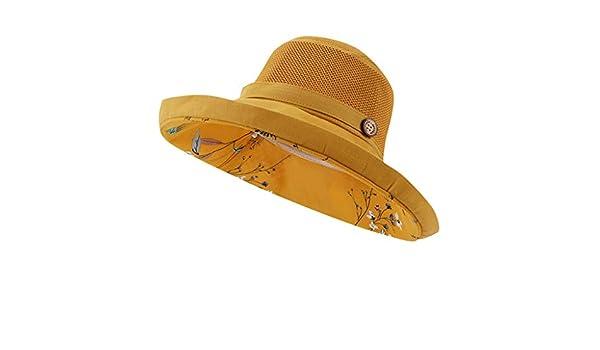 HYIRI - Sombrero de Pescador para Mujer Transpirable con Visera ...
