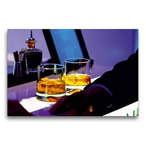 CALVENDO Lifestyle Toile Murale décorative en Tissu Motif Paysage de Whisky 75 x 50 cm