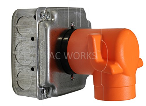 AC WORKS [AD650L630] Welder 6-50P Plug to L6-30R 3-Prong 30 Amp 250 Volt Locking Female Adapter by AC WORKS (Image #5)