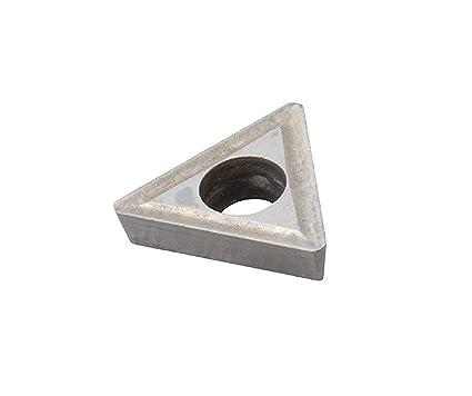 HHIP 6025-0731 TPGC-321 Tin Coated C5 Carbide Insert 3//8 IC.125 Hole