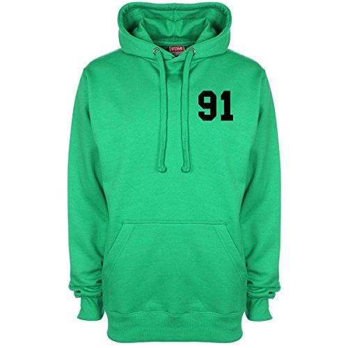 Louis Tomlinson Date of Birth One Direction Hoodie - Green - Medium (40 inches)