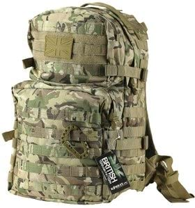 like MTP Backpack BTP Camo Molle 40L Assault Pack by Kombat UK Rucksack
