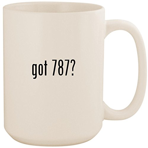 (got 787? - White 15oz Ceramic Coffee Mug Cup)