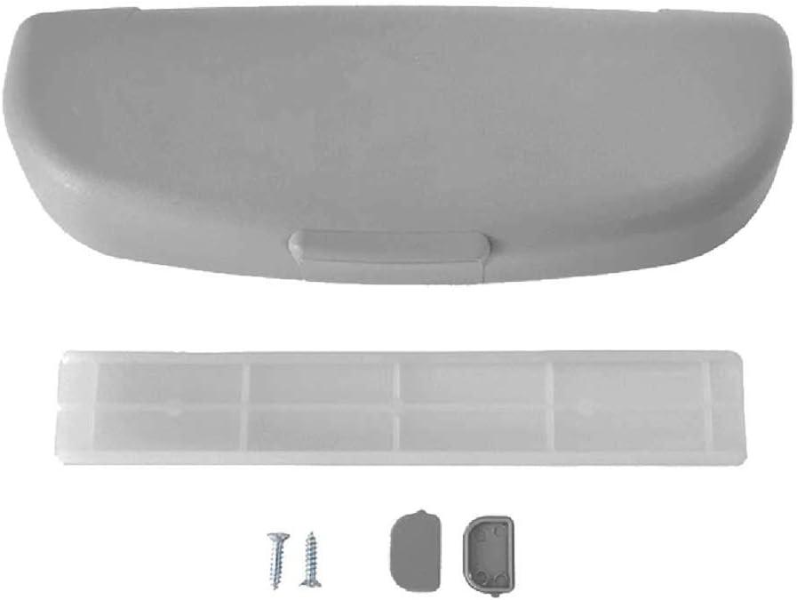 Beige Brillenhalter Auto Lifet Brillenhalterung Auto Brillen Ablage Schwarz Brillenablage F/ürs Auto Brillenbox Brillenhalter Grau