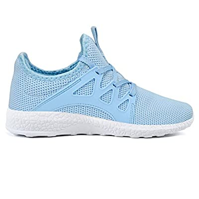 Feetmat Womens Running Shoes Ultra Lightweight Breathable Mesh Athletic Walking Sneakers