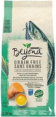 Beyond Grain Free Natural Dry Cat Food, Ocean Whitefish & Egg 2.26 kg