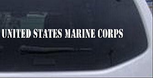 United States Windshield Military Sticker