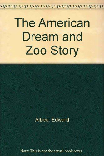 Download The American Dream And Zoo Story Download Pdf Or
