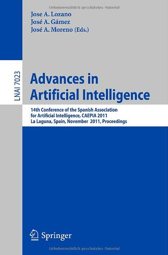 Advances in Artificial Intelligence by , Springer