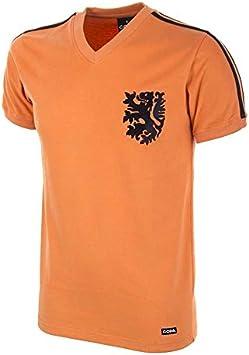 COPA Football - Camiseta Retro Holanda Mundial 1974 (M): Amazon.es ...