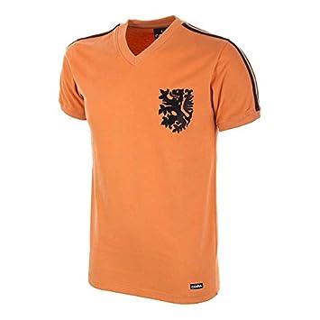 COPA Football - Camiseta Retro Holanda Mundial 1974 (M): Amazon.es: Deportes y aire libre