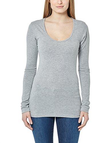 Berydale Camiseta de manga larga para mujer Hellgrau