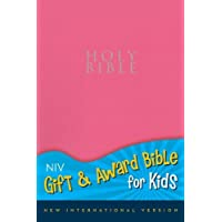 NIV, Gift and Award Bible for Kids, Leathersoft, Pink, Red Letter