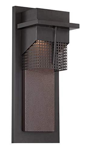 Designers Fountain LED32621-BNB Beacon 7 Inch Led Wall Lantern by Designers Fountain