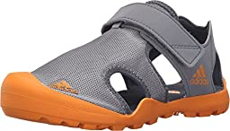 Adidas S81736 Baby Captain Toey Athletic Sandals, Grey/Eqt Orange/Onix - 2