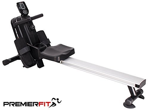 PremierFit R400 Rowing Machine - Advanced Home Rower with Adjustable...