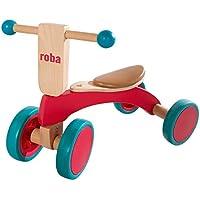 roba 97002, Triciclo in Legno, Multicolore
