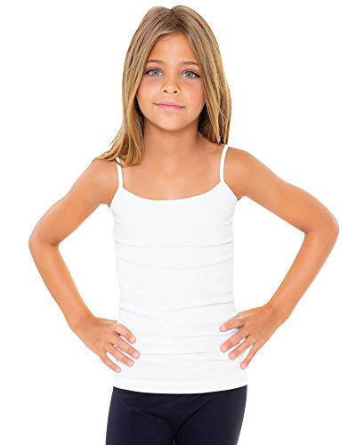 Top Bra Malibu - Malibu Sugar Girls (7-10) Full Cami One Size White