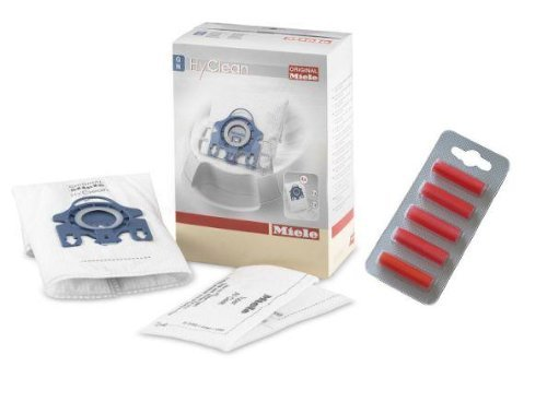 Miele Gn Hyclean Vacuum Cleaner Dust Bags Filters & Air Freshener Sticks Give out Of 4