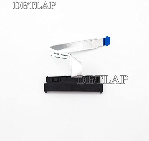 wangpeng New Laptop SATA Hard Drive Connector Adapter with Cable for HP Envy X360 15-AQ 15-AQ015NR 15-AQ018CA 15T-AQ000 15-AQ110NR 15-AQ123CA 15-AQ155NR 15-AQ156NR 15-AQ165NR 15-AQ166NR