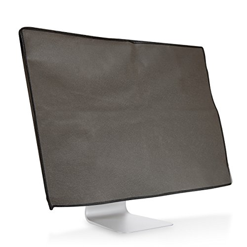 "kwmobile Monitor Cover Compatible with Apple iMac 27"" / iMac Pro 27"" - Anti-Dust PC Monitor Screen Display Protector - Dark Grey"