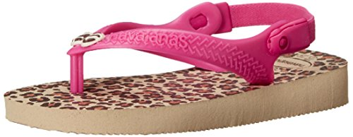 180ac5ceb2ec Havaianas Baby Chic Sandal Flip Flop with Backstrap (Toddler) - Buy ...