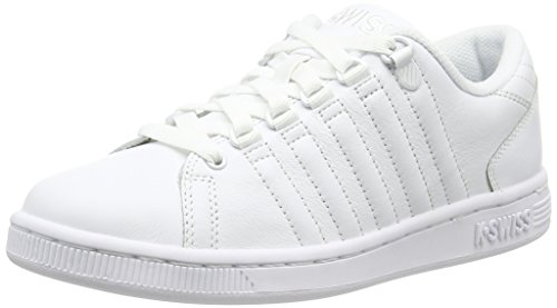 K-Swiss Lozan Iii, Zapatillas Para Mujer blanco - blanco (blanco/blanco/blanco)