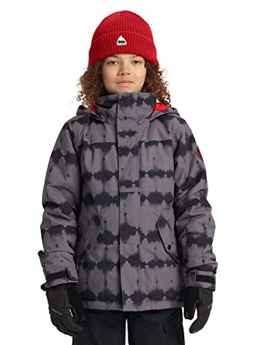 Burton Boys' Symbol Jacket, Blowout Stripe, X-Small