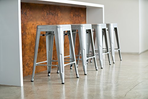 Urbanmod 24 Counter Height Bar Stools By Silver Barstools
