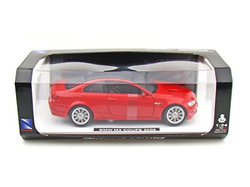 2008 BMW M3 Coupe 1/24 Red (Bmw M3 Model compare prices)