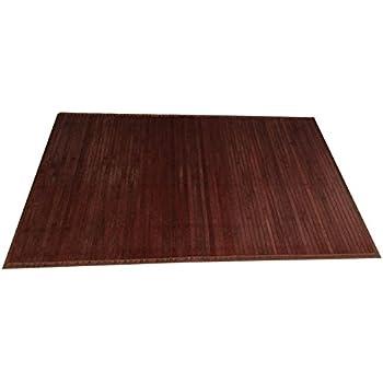 Amazon Com Natural Bamboo Floor Mat Elegant Bath Mats