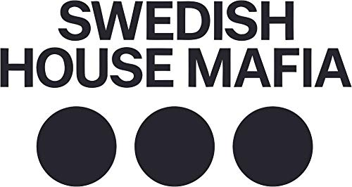 Swedish House Mafia Wall Decals - DJ/Producer for House Music, Electronic Music, Deep Festival, Festivals Clubs Vinyl Art Decal Stickers for House, Bedroom, Kitchen Wall Decoration Size (2x6 inch)