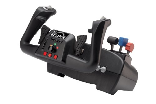 CH Products Eclipse Yoke with 144 Programmable Functions with Control Manager Software Ch Products Flight Simulator Yoke