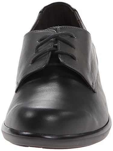 Womens Kedma Shoes Black Leather Naot 45Hxq0dvH