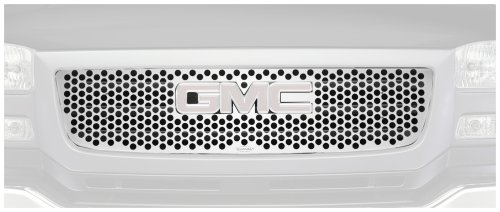 Putco 84138 Punch Mirror Stainless Steel Grille