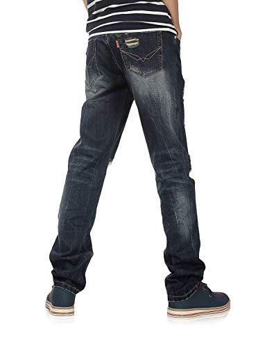I Degli Tagliare Denim Di Uomini Adelina Abbigliamento 802r Pantaloni 802r5xblau F In Serie Dritto IwgnYqC