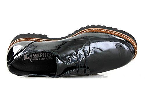 Mephisto S1585 Sabatina, Lackleder, Grey Schwarz