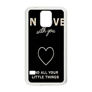 Cool Design Popular Im In LOve with you TPU Covers Cases Accessories for Samsung Galaxy S5 SV