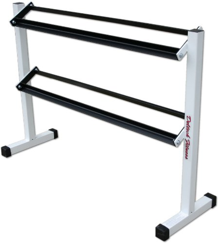 Deltech Fitness Two-Tier Dumbbell Rack