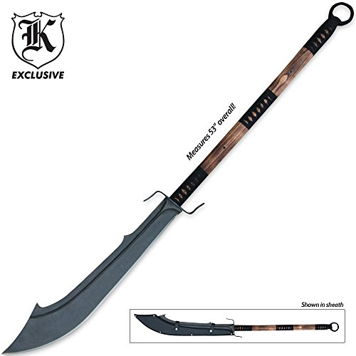 K EXCLUSIVE Forged Warrior Chinese War Sword With Sheath